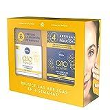 NIVEA Pack Q10 Tratamiento Antiarrugas 4 semanas, set de cremas reafirmantes, caja de regalo con crema de día con FP30 (1 x 50 ml) y crema de noche (1 x 50 ml)