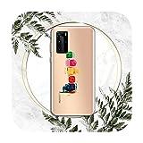 Coque transparente personnalisée pour Huawei P honor 8 10i 20 30 40 smart 2019-a2-huawei p30 pro