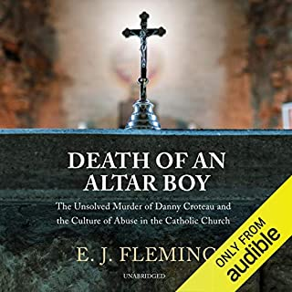 Death of an Altar Boy audiobook cover art