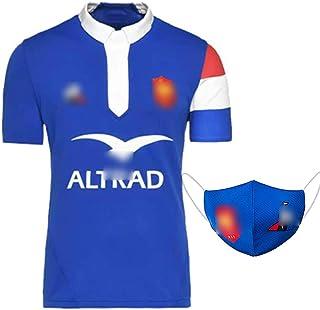 2019日本のワールドカップフランスのサッカーの衣フランスの鶏のラグビーの服、ファンの支持のユニホーム、男性の試合のラグビーのシャツ