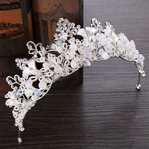 Tiara haarsieraad bruidssieraad kroon vrouwelijke hoofdbloem gewikkeld haar retro eenvoudig edele delicate elegante Heilig jurk accessoires fotografische decoratie