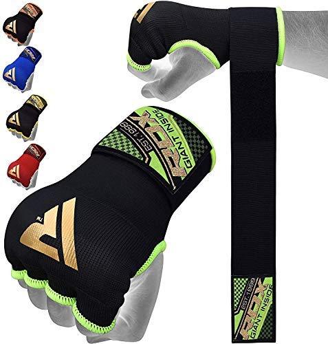 achat authentique rétro nouveaux produits chauds RDX Cinta Boxeo Vendas Mano Muñeca Elasticas Interiores Guantes MMA  Envolturas Vendaje Kick Boxing