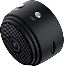 A9 Mini Camera,HD 1080P Portable Home Security Cameras Video Recorder Motion Detection Loop Recording - Black, 43 x 35 x25mm