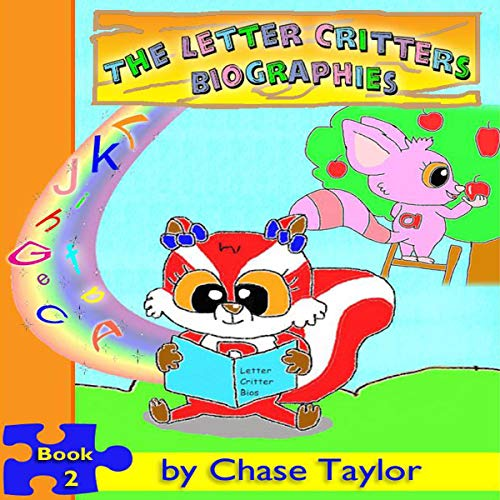 The Letter Critters Biographies audiobook cover art