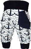KLEINER FRATZ Baby Pumphose (Farbe Anker-Navy) (Gre 74-86)