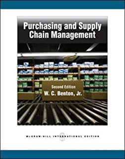 Purchasing and Supply Chain Management by W. C., Jr. Benton (2010-03-01)