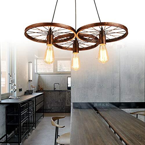 Jasemy - Lampadario da soffitto in stile retrò, stile vintage