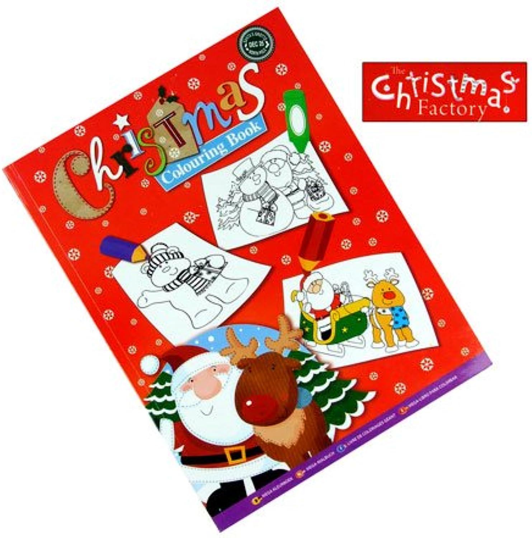 (The Christmas Factory) Christmas Colouring Book B0048W6PKU | Bunt,