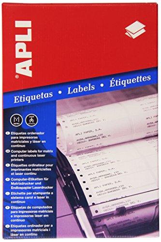 Apli Etiketten in ständiger, 88.9x 23.3mm 3–Box, 1Stück