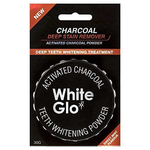 Teeth Whitening Systems White Glo Activated Charcoal Teeth Whitening Powder 30g / Sistemas de blanqueamiento dental activado Carbón blanqueador de dientes en polvo 30 g Australia