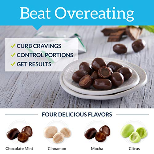 MealEnders Cravings Control Lozenges | Stop Overeating, Curb Cravings and Reduce Snacking | 25-Count Bag (2-Pack) (1x Choc.Mint 1x Cinnamon)