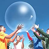 Giant Balloons 36-Inch Clear Balloons, 6 Big latex balloons Large Transparent Balloon for Birthdays Party Wedding and Event Decorations