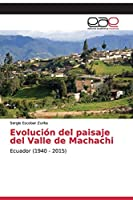 Evolución del paisaje del Valle de Machachi