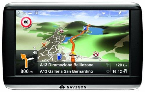 NAVIGON 42 Premium Navigationssystem (10,9cm (4,3 Zoll) Display, Europa 44, Navteq Traffic, NAVIGON Flow, Professionelle Sprachsteuerung 2.0)
