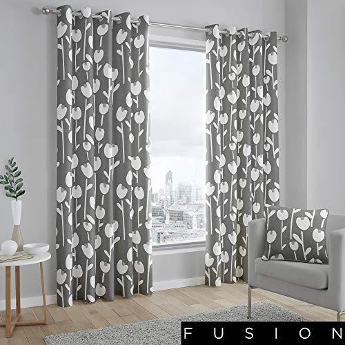 cortinas estampadas dormitorio