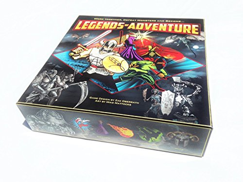 Legends Of Adventure jeu de plateau