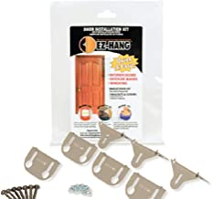 EZ-Hang Door Installation Kit - Quick and Easy Door Hanging: No Shims Required