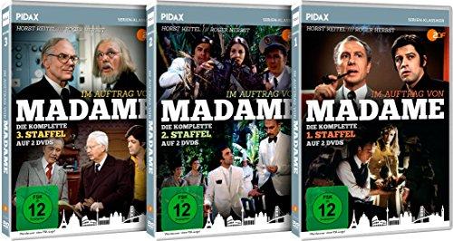 Im Auftrag von Madame - Gesamtedition / Die komplette 39-teilige Krimiserie auf 6 DVDs (Pidax Serien-Klassiker)