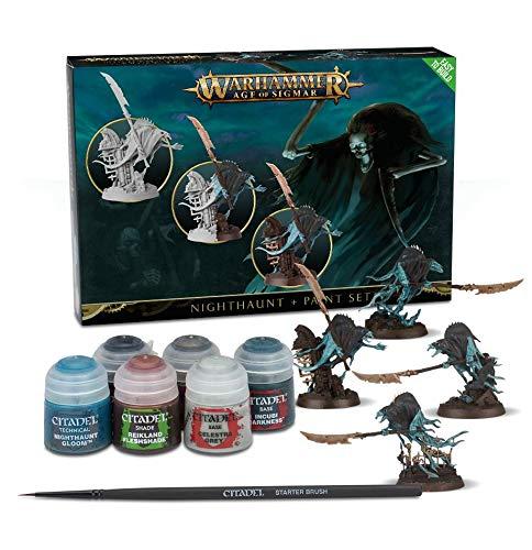 Games Workshop Warhammer Age of Sigmar: Nighthaunt + Paint Set
