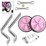Sunshine smile 2 Teile/Satz stützräder für kinderfahrrad Bike Training Räder Universal Kinder Stützräder Fahrrad Stützräder für Kinder (Pink)
