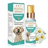 SEGMINISMART Spray Dental para Mascota,Ambientador para Aliento De Mascotas,Pet Dental Spray, Reduce La Acumulación De Placa Y Sarro
