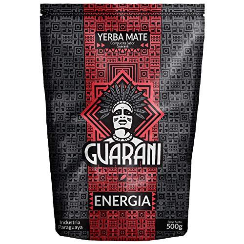 Mate Tee Guarani Energia Guarana Mate Tee 500g | Mate Tee aus Paraguay | hohe Qualität großes Paket | Loser Tee (0,5 kg) (500g)