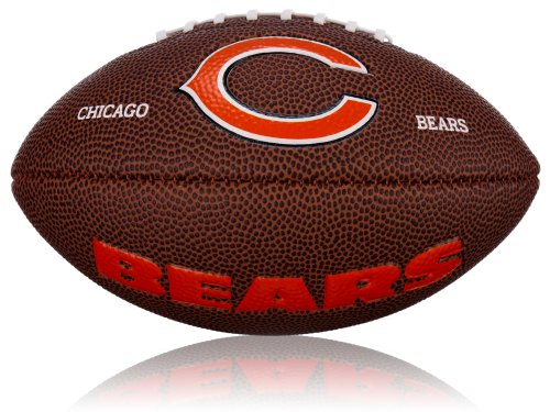 Wilson Football NFL Mini Chicago Bears Logo, Braun, 2, WL0206562042