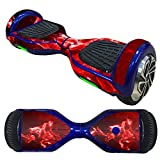 Witspace Protector for Balance Scooter, Protective Vinyl Skin Decal for 6.5in Self Balancing Scooter Hoverboard 2 Wheels Protective Gear Sticker (Multicolour #15)