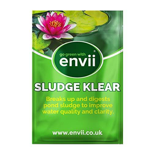 Envii Sludge Klear – Elimina el lodo y los malos olores del estanque incluso a 4ºC - 12 Tablets