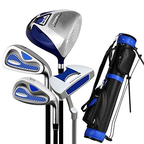 Xhtoe Golfclub Golf Putter Komplettes Übungsgolfschlägerset Herren-Semi-Set Pole Exerciser Golf Einsteigerset Golfschlägerset (Farbe : One Color, Größe : S6)