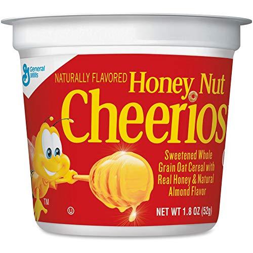 GNMSN13898 - Cheerios Honey Nut Cereal-in-A-Cup