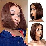 Bob Wigs Real Human Hair 13x4x1 Bob Lace Frontal Wigs 12