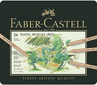 Faber Castell Pitt Pastel Pencils - Set of 24