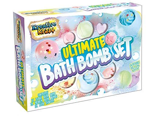 KreativeKraft Badebomben, Badezusatz Kinder, Badekugeln, Badeartikel für Mädchen und Frauen Perfekt für Spa-Aromatherapie, Bath Bombs, Geschenke fur Frauen