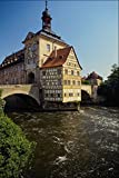 580084 Bamberg Altes Rathaus Bavaria A4 Photo Poster Print