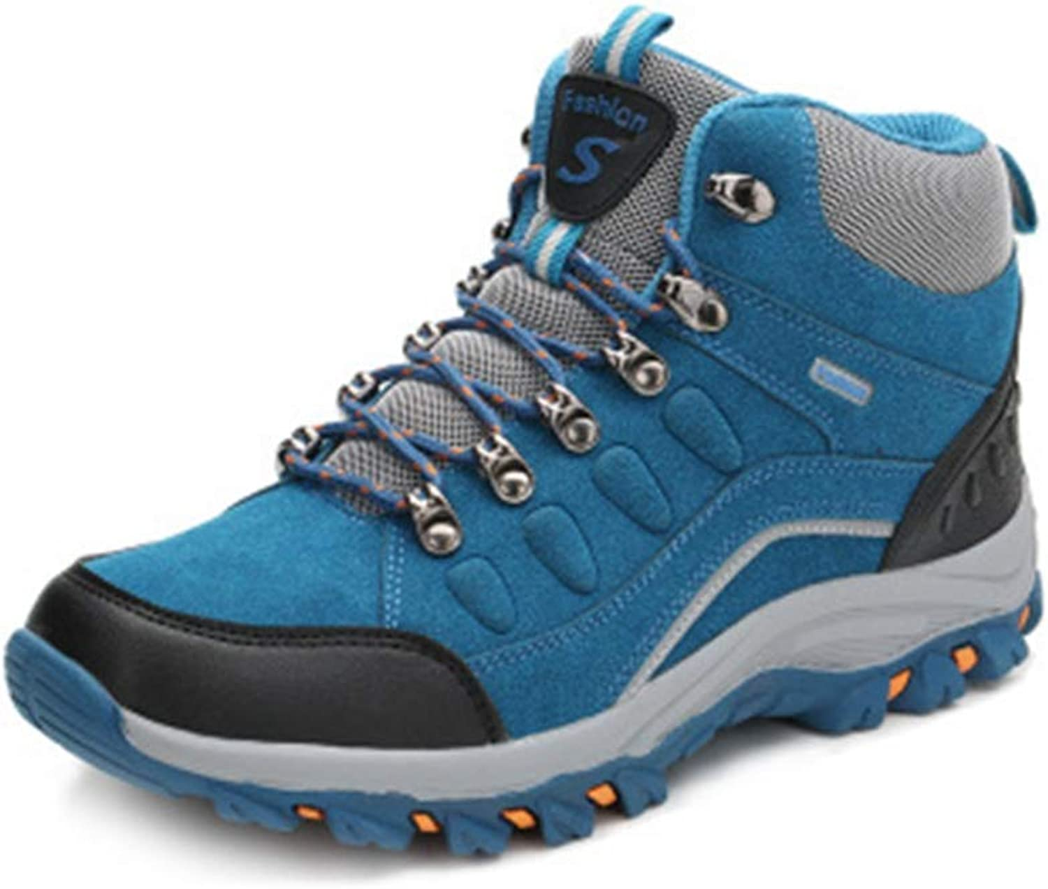 8738d8f19aa High-top shoes Climbing Casual Non-Slip Hiker Trail Running Outdoor ...