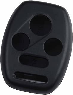 KeyGuardz Black Rubber Keyless Entry Remote Key Fob Skin Cover Protector