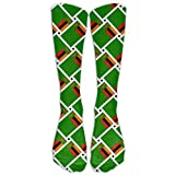Dutars Zambia - Calcetines de compresión con diseño de bandera de Zambia para correr, médicos, atletismo, edema, diabético, varices, viajes, embarazo, espinillas, enfermería.