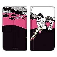WHITENUTS majocco Rakuten Hand ケース 手帳型 薄型プリント手帳 野うさぎちゃんA (mj-006) TC-C1440993/ML
