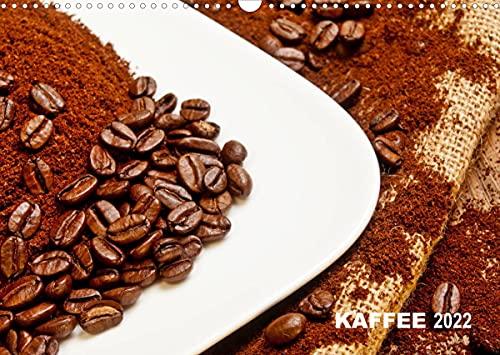 KAFFEE 2022 (Wandkalender 2022 DIN A3 quer)