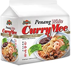 8-pack Ibumie Penang White Curry Mee/Fragrant & Spicy, Rich & Creamy Broth, Authentic Piping Hot Flavor from Food Heaven, Penang Malaysia (105g/pack)