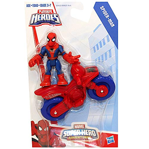 Spiderman & Cycle Marvel Super Hero Adventure