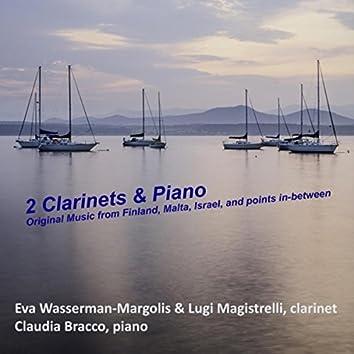 2 Clarinets & Piano