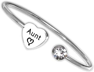 Hutimy Aunt هدايا سوار للنساء العمة مجوهرات العمة الإسورة هدية العمة أفضل أساور العمة