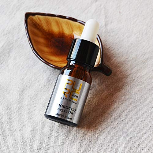 PURC à Nouveautés naturelle pressée de froid Arbre coco huile vierge Thé Huile d'Huile cheveux Argan marocaine Traitement des cheveux 10ml-100ml (1PCS 10ML Argan Oil)