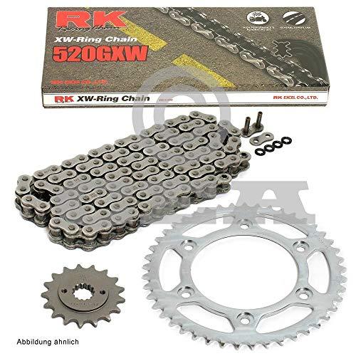 Chaîne Jeu de Ducati S Sport 750 01–02, RK 520 GXW 98, ouvert, 15/40