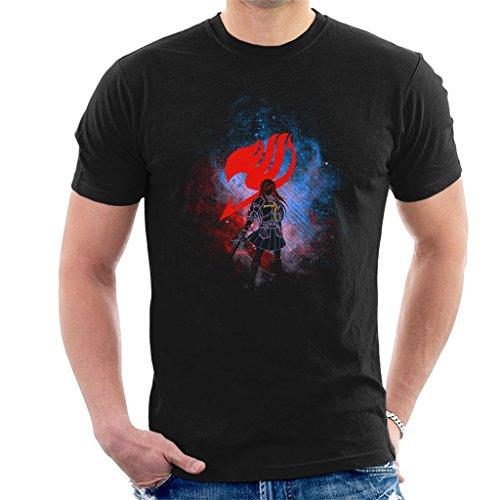 Fairy Tail Erza Silhouette Men's T-Shirt
