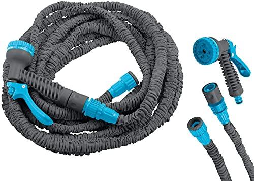 DEKO VERTRIEB BAYERN Premium Flexibler Gartenschlauch Magic 23m Flexi Wasserschlauch flexibel Flexischlauch Modell Premium 2021 dehnbar 1/2