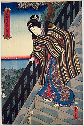 XXYHYQHJD Kimono japonés de Mujer Pintura por Números para Adultos y niños...