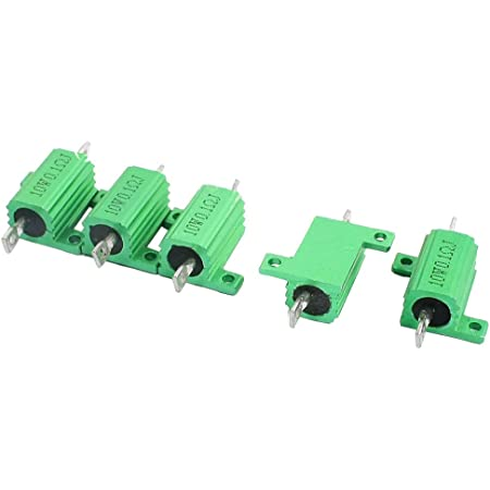 New!Chasis Mounted 25W 0.1 Ohm tolerance 5/% Aluminum Clad Wirewound Resistors
